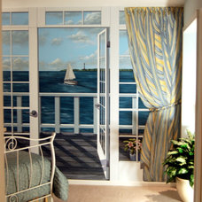Contemporary Windows And Doors by Wow Effects-Murals and Fine Art