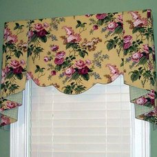 Traditional Powder Room by Lady Dianne's Custom Window & Bed Treatments