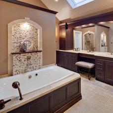 Mediterranean Bathroom by Gina Bon, Airoom Architects & Builders LLC