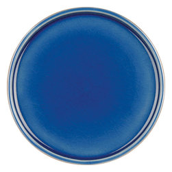 Waechtersbach - Pure Nature Blue Set of 4 Saucers/Lids - The look of these hand-glazed and painted saucers is perfect to go under your morning cup of coffee or tea. You will love the interior crackled glaze and the exterior painting that has been artfully created to look like wood. The combination creates a timeless design that will be enjoyed for years to come.