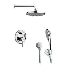 Remer - Sleek Modern Shower System - Multi function shower faucet.
