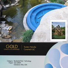 Hot Tub And Pool Supplies by Covertech - rigid automatic pool cover