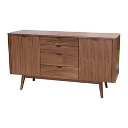 Apt2B - Murtaugh Sideboard - RIGGS!! The Murtaugh is definitely NOT too old for this.... stuff....  It brings out nostalgic memories but is back in action and kickin' butt! Features 4 Drawers and 2 Doors.