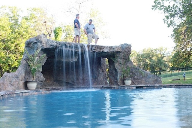 Traditional Hot Tub And Pool Supplies by ADC Hardscapes