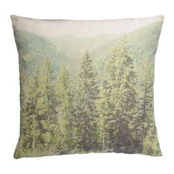 The Trees Photo Pillow Cover - Photo-real textiles were such a big idea this year in clothing, so I'm sure they're going to get even bigger in home decor. I can picture this tree iteration in my home with the rest of the decor. It adds such a fun little winter element with the evergreens.