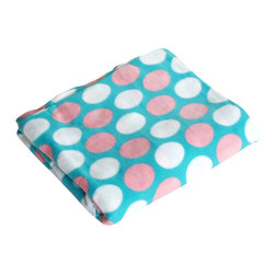 "Blancho Bedding - [Pink & White Dots] Soft Coral Fleece Throw Blanket (59""-74.8"") - The Coral Fleece Throw Blanket measures 59 by 74.8 inches. Whether you are adding the final touch to your bedroom or rec-room, these patterns will add a little whimsy to your decor. Machine wash and tumble dry for easy care. Will look and feel as good as new after multiple washings! This blanket adds a decorative touch to your decor at an exceptional value. Comfort, warmth and stylish designs. This throw blanket will make a fun additional to any room and are beautiful draped over a sofa, chair, bottom of your bed and handy to grab and snuggle up in when there is a chill in the air. They are the perfect gift for any occasion!"