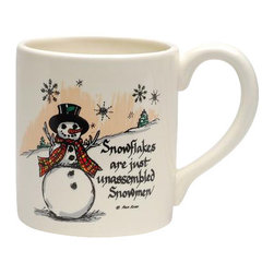 ATD - 5.75 Inch Holiday Themed Snowman Quote Collectible Mug, White - This gorgeous 5.75 Inch Holiday Themed Snowman Quote Collectible Mug, White has the finest details and highest quality you will find anywhere! 5.75 Inch Holiday Themed Snowman Quote Collectible Mug, White is truly remarkable.