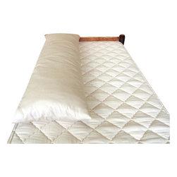 Holy Lamb Organics - Organic Cotton Body Pillowcase - Organic cotton fabric body pillow cover. fits the Holy Lamb Organics Full Body Pillow 17x53