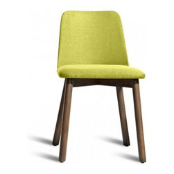 Blu Dot Chip Chair - Bright Green - No dash of flash needed. Pleasing comfort, timeless form, and a hardy build makes Chip a poised seating fix for any space.