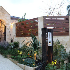 Mediterranean Exterior by SolScapes