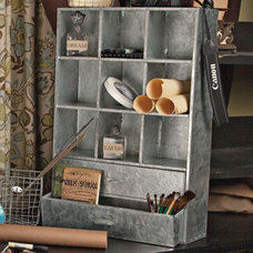 Eclectic Storage And Organization by Iron Accents