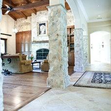 Mediterranean Living Room by Signature Designs Kitchen & Bath