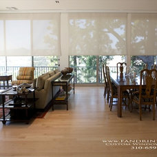 Traditional Dining Room by F&R Interiors Custom Window Treatments