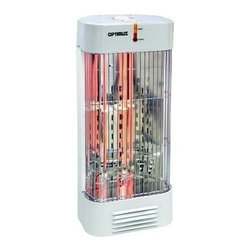 OPTIMUS - OPTIMUS H5230 WHT HEATER TOWER QUARTZ WITH THERMOSTAT 2 HEAT -