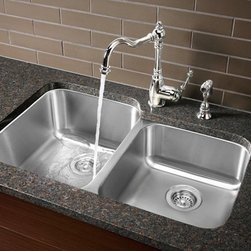 BLANCO STELLAR™ 1-3/4 Bowl - Classic styling and fine craftsmanship at an attainable price. With a Refined Brushed Finish, our most popular shapes have been designed to fit a variety of applications and cabinet sizes.