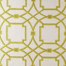 Global Views - Global Views Arabesque Rug - Oasis - Hand-tufted, hand-dyed in custom colors to work in today's interiors. The designs are created by our in-house design team and are exclusive to Global Views. Available Sizes:Small - 5' x 8'  / Medium - 6' x 9'Large - 8' x 10' / X-Large - 9' x 12'
