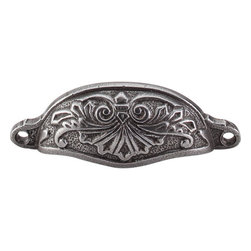 "Top Knobs - Abbot Cup Pull 3 15/16"" (c-c) - Cast Iron - Abbot Cup Pull 3 15/16"" (c-c) - Cast Iron"