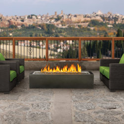 Firepits, Patio Flames and Outdoor Fireplaces - Napoleon GPFL48MPH Linear Gas Fire Pit