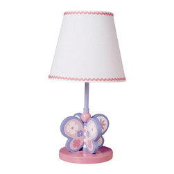 Cal Lighting - Juvenile Butterfly Lamp - Requires 60W bulb (not included). Butterfly lamp. Height: 15.25 in.. Base: 5.75 in.. Weight: 4.4 lbs.