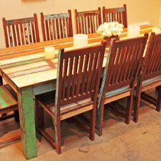 Eclectic Dining Tables by Tara Design