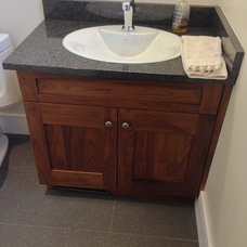 Traditional Bathroom by Florkowskys Woodworking & Cabinets LTD