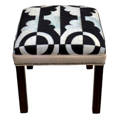 """Carrier Collective - """"Mini"""" Ottoman - Meet """"Mini"""".  One of our Native American inspired designed Ottomans."""