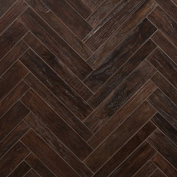 AnTeak Small Herringbone in Coffee - ANTEAK