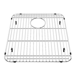 American Standard - Bottom Grid 18 inch x 20 inch Kitchen Sink Rack in Stainless Steel - American Standard 8445.161800.075 Bottom Grid 18 inch x 20 inch Kitchen Sink Rack in Stainless Steel. The American Standard 8445.161800.075 is a stainless steel bottom grid sink rack.  This optional stainless steel wire bottom grid sink rack has an opening for a sink strainer and helps to protect the bottom of your sink from scratches. This grid rack is both hygienic and dishwasher safe.American Standard 8445.161800.075 Bottom Grid 18 inch x 20 inch Kitchen Sink Rack in Stainless Steel, Features:Polished stainless steel
