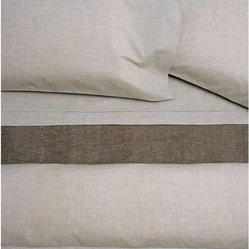 Heather Natural Flat Sheet