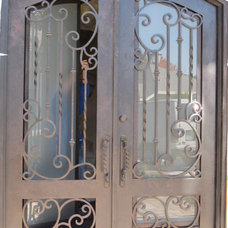 Mediterranean Front Doors by Lidia M. Luna At Forge Iron Designs