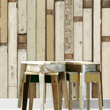Eclectic Wallpaper by Piet Hein Eek Scrapwood Wallpaper