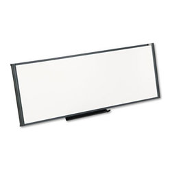 Quartet - Quartet 48 x 18 in. Workstation Total Dry Erase Board Multicolor - QRTWM4818 - Shop for Dry Erase Boards from Hayneedle.com! Display important messages conveniently on the Quartet 48 x 18 in. Workstation Total Dry Erase Board. This dry erase board resists staining and ghosting. Made in the USA the workstation erase board is perfect for posting notes and pictures in offices. The set includes marker rail and dry-erase marker. It will resist dents and scratches. High on functionality this total dry erase board is easy to clean that adds to its features.About United StationersDedicated to making life in the office more organized efficient and easier United Stationers offers a wide variety of storage and organizational solutions for any business setting. With premium products specifically designed with the modern office in mind we're certain you will find the solution you are looking for.From rolling file carts to stationary wall files every product in the United Stations line is designed with one simple goal: to improve office efficiency. In turn you will find increased productivity happier more organized employees and an office setting that simply runs better with the ultimate goal of increasing bottom line profits.