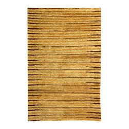 """Safavieh - Natural & Brown Hand-Knotted Jute Rug (9 ft. x 12 ft.) - Size: 9 ft. x 12 ft.. Durable, long lasting & surprisingly soft Organica collection rug makes sense anywhere in your home. Rug is made with hand knotted jute, renowned for its natural strength and beauty. Natural tone and brown rug promises everlasting value. Hand Knotted. Made of Jute. Made in IndiaFashion meets sustainability in Safavieh's new Organica collection of eco-friendly original designs hand-knotted of 100 percent high-quality jute pile on a cotton warp and weft. The biodegradable jute fiber specially selected for our rugs is harvested from Cannabis Sativa (commonly known as the """"true hemp"""" plant) and is twice washed to soften each yarn before weaving. Safavieh's trained artisans then brush the jute yarn to an even more lustrous sheen before it is hand-knotted into organic floor coverings of unrivaled softness and beauty. The Organica collection is woven in India."""