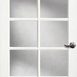 Authentic Wood Doors - Primed Glass Door 10-Lite