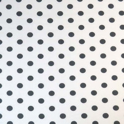 """SheetWorld - SheetWorld Fitted Sheet (Fits BabyBjorn Travel Crib Light) - Grey Polka Dots - This beautiful 100% cotton """"woven"""" travel crib light (fits babybjorn) sheet features 1/2"""" grey polka dots on a white background. Our sheets are made of the highest quality fabric that's measured at a 280 tc. That means these sheets are soft and durable. Sheets are made with deep pockets and are elasticized around the entire edge which prevents it from slipping off the mattress, thereby keeping your baby safe. These sheets are so durable that they will last all through your baby's growing years. We're called sheetworld because we produce the highest grade sheets on the market today. Size: 24 x 42. Not a Babybjorn product. Sheet is sized to fit the Babybjorn crib. Babybjorn is a registered trademark of Babybjorn AB."""
