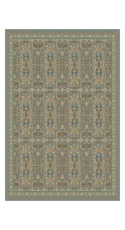 Momeni Rug - Momeni Rug Belmont 2' x 3' BE-07 Light Blue BELMOBE-07LBL2030 - The Belmont Collection brings ancient Persian rug design to any home. Gorgeous traditional patterns and subtle coloration bring depth and dimension to any living space while modern materials and techniques lends durability and strength to stand up to high use areas of the home. Add texture and complexity to your home with the Belmont Collection.