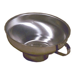 The Ultimate Canning Funnel - This durable canning funnel will last you for years. As it is made of stainless steel, it will not dent like the aluminum types do.