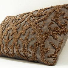 Eclectic Decorative Pillows by Saffron Interior Arts