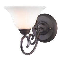 Golden Lighting - RBZ-OP Homestead RBZ Bath - 1 Light Wall Sconce