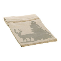 Silk Plants Direct - Silk Plants Direct Cotton Jute Reindeer and Tree Print Table Runner (Pack of 4) - Pack of 4. Silk Plants Direct specializes in manufacturing, design and supply of the most life-like, premium quality artificial plants, trees, flowers, arrangements, topiaries and containers for home, office and commercial use. Our Cotton Jute Reindeer and Tree Print Table Runner includes the following: