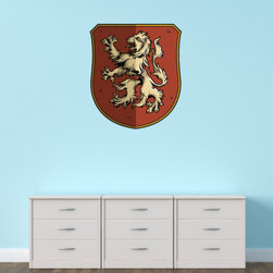 Family Crest Vinyl Wall Decal FamilyCrestUScolor002; 72 in. - Vinyl Wall Decals are an awesome way to bring a room to life!