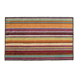 Missoni Home - Missoni Home | Jazel Orange Bath Mat - Design by Rosita Missoni.