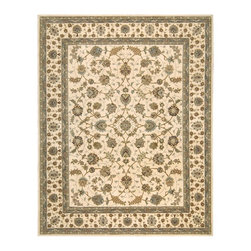 Nourison - Nourison Nourison 2000 Ivory Area Rug - Redefine luxury with Nourisons most popular handmade signature collection featuring Persian and European traditional designs. The dense pile splendid patterns deeply compelling textures and intriguing aesthetics are certain to command immediate attention in any setting.