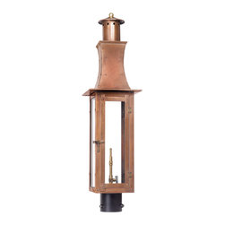 Elk Lighting - Elk Lighting Maryville 7910-WP Outdoor Gas Post Lantern in Solid Brass & Aged Co - 7910-WP Outdoor Gas Post Lantern in Solid Brass & Aged Copper Finish belongs to Maryville Collection by Elk Lighting Outdoor Gas Post Lantern Maryville Collection In Solid Brass In an Aged Copper finish. Post Lantern (1)
