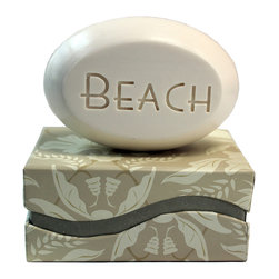 New Hope Soap - Scented Soap Bar Personalized – Beach, Bamboo Birch - Personalized Scented Soap Bar Gift Set Engraved with Beach