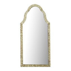 Simplicity Mirror - The simple shape of this stately mirror makes it extremely versatile. Use a pair over your bedside nightstands to add symmetry and flair, or mount it over your bathroom vanity for an unexpected dose of glamour. Have a grand entryway? Rest this above a demilune table for a look that will impress your guests.