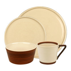 Pure Nature Moon 16pc Place Setting