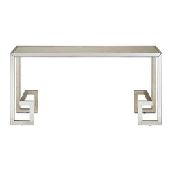 Currey and Company - Currey and Company Perseus Modern / Contemporary Console Table X-8304 - Currey and Company Perseus Modern / Contemporary Console Table X-8304