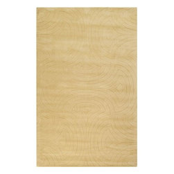 Surya Rugs - Surya SCU-7556 Sculpture Designer Hand Loomed 100% Wool Light Green Rug - 100% Wool. Style: Designer. Rugs Size: 5' x 8'. Note: Image may vary from actual size mentioned.