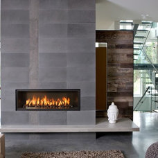Modern Fireplaces by Exotic Home Expo